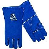 Steiner 02509F-X ThermoCore Foam Lined Shoulder Split Cowhide Stick Welding Gloves, Blue, X-Large, (12-Pack)
