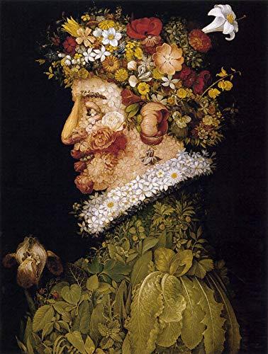 Giuseppe Arcimboldo Spring 1563 Real Academia de Bellas Artes de San Fernando 30