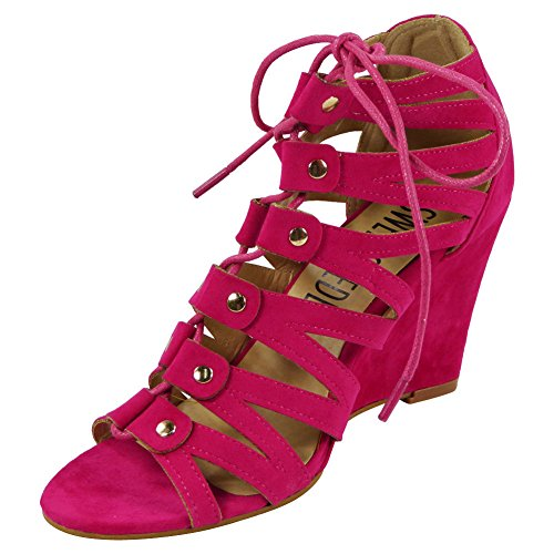 CORE COLLECTION  Candice,  Damen CANDICE Fuchsia Suede