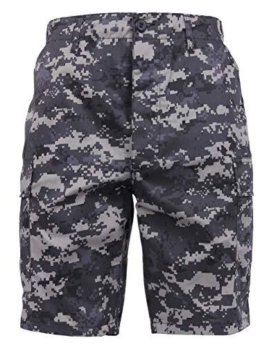 Rothco Digital Camo BDU Shorts, L, Subdued Urban Digital Camo ()