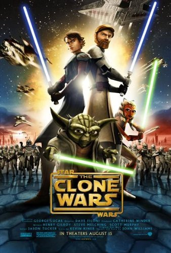 (Star Wars: The Clone Wars POSTER Movie (27 x 40 Inches - 69cm x 102cm) (2008) )
