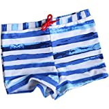 VORCOOL Boys Swimming Trunks Drawstring Swim Boxer Shorts