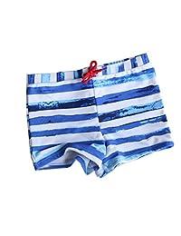 WINOMO Boys Swimming Trunks Drawstring Swim Boxer Shorts