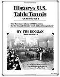 History of U. S. Table Tennis Volume 2, Tim Boggan, 1495999300