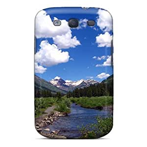Cute Appearance Cover/tpu Crested Butte Co Case For Galaxy S3 by icecream design