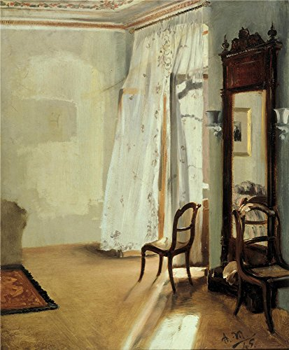 oil-painting-adolph-menzel-das-balkonzimmer-printing-on-high-quality-polyster-canvas-20-x-24-inch-51