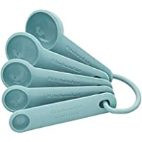 KitchenAid Measuring Spoons, Set Of 5, Aqua Sky