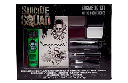 GBG Suicide Squad The Joker Costume Makeup Cosmetic Kit (Suicide Squad Best Makeup)