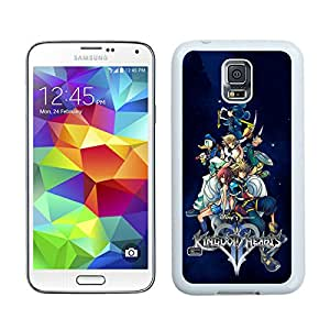 Newest Samsung Galaxy S5 I9600 Case ,Kingdom Hearts (2) White Samsung Galaxy S5 I9600 Screen Case Unique And Durable Custom Designed Cover Case