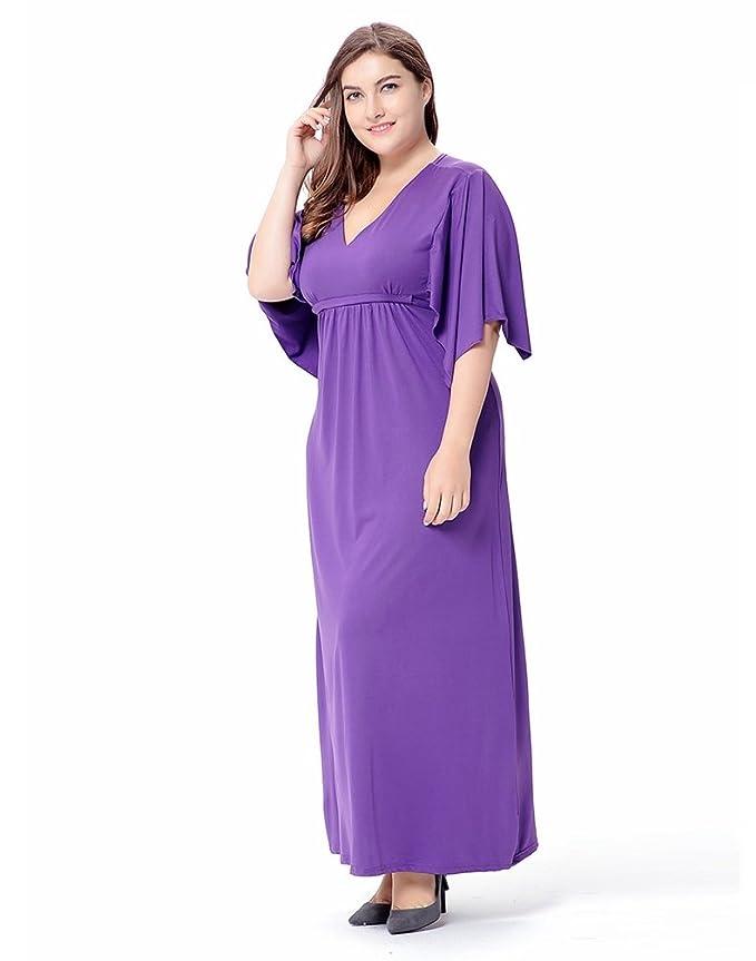 Único Vestidos De Cóctel Púrpura De Talla Grande Patrón - Colección ...