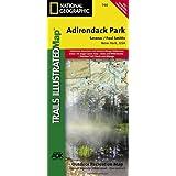 Saranac, Paul Smiths: Adirondack Park (National Geographic Trails Illustrated Map)