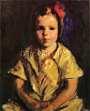 COINTH LOVIS PORTRAIT OF FAITH ARTIST PAINTING REPRODUCTION HANDMADE OIL CANVAS 20x16inch MUSEUM QUALITY