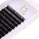 LANKIZ 3d Eyelash Extensions C Curl 0.15mm Mixed Tray, Volume False Lash Extensions Individual Eyelash Extension Supplies Salon Perfect Use