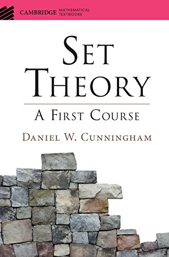 Set Theory  A First Course  Cambridge Mathematical Textbooks   English Edition