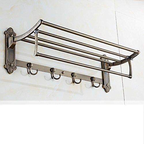low-cost antique white bathroom rack Towel rack suit bathroom activities/Qing Tan-C