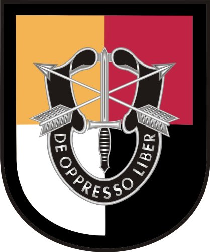 US Army 3rd Special Forces Group Decal Sticker 3.8