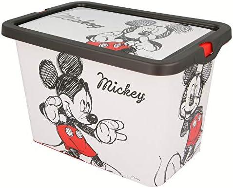 Stor Caja Click 7 L   Mickey Mouse - Disney - Fancy: Amazon.es: Juguetes y juegos