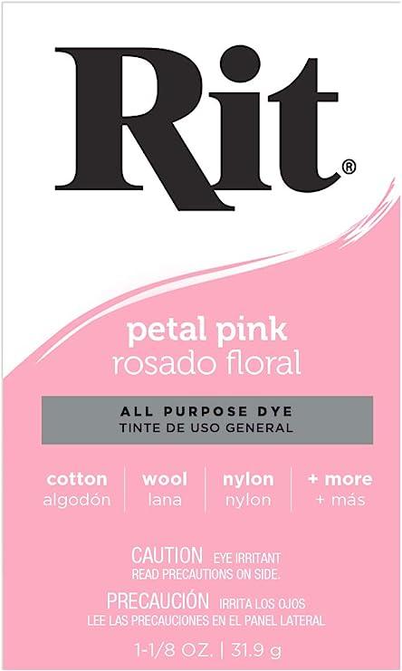 Rit - Tinte Multiusos en Polvo, Petal Pink, Wrong Product ID it Should be 0885967830705