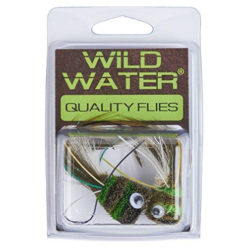 Wild Water Deer Hair Frog Popper, Size 2, Qty. 2 (Deer Hair Frog)