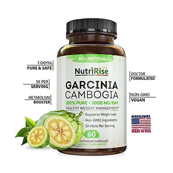 Health Shopping Garcinia Cambogia 3000 MG Supplement – 60 Capsules
