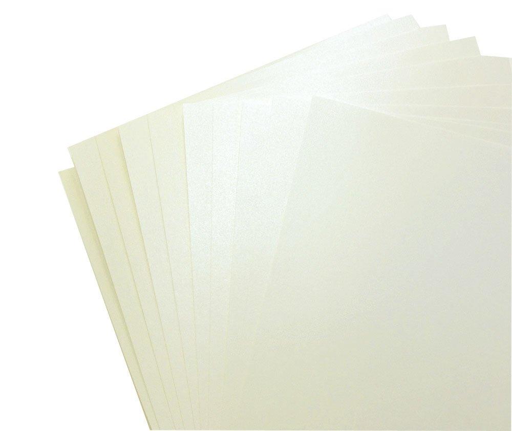 per stampanti laser e a getto dinchiostro Peregrina Majestic: fogli di carta lucida formato A4 20 pezzi perlacei su entrambi i lati 120 g//m2