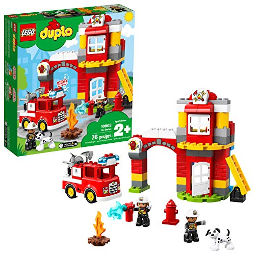 LEGO DUPLO Town Fire Station 10903 Building Blocks (76 Pieces)