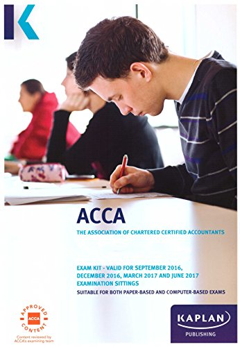 ACCA F8 Audit and Assurance (International and UK) – Exam Kit