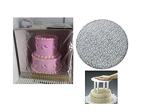 Amazon.com: Cakesupplyshop 12inch 14inch Two Tier Round Cake ...