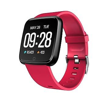 WSDSX - Reloj de Pulsera Inteligente para Mujeres y Hombres, Pulsera de Actividad, frecuencia