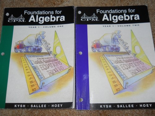 Foundations for Algebra: Year 1