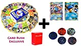 100 Pokemon Cards with BLASTOISE EX + MEGA BLASTOISE holo set- 5 coin tokens, deck box, ultimate Gift Collection
