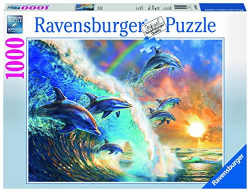 Ravensburger Dolphin - Ravensburger Dancing Dolphins Jigsaw Puzzle (1000 Piece)