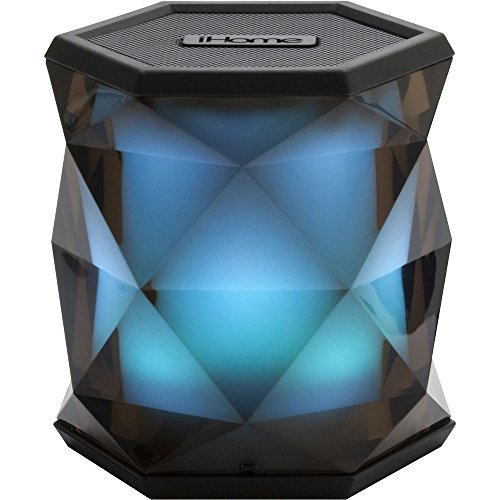 (iHome iBT68 Color Changing Rechargeable Bluetooth Wireless Speaker with)