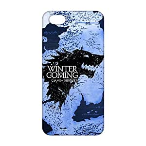 Cool-benz Winter map game of thrones 3D Phone Case For Sam Sung Note 4 Cover