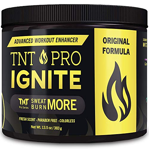 Fat Burning Cream for Belly – TNT Pro Ignite Sweat Cream for Men and Women – Thermogenic Weight Loss Workout Slimming…