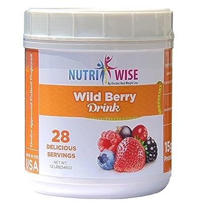NutriWise - Wild Berry Protein Diet Drink ( 28 Serv )