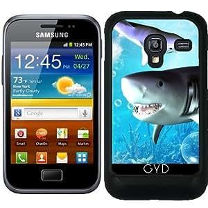 Funda para Samsung Galaxy Ace Plus S7500 - Impresionante Tiburón by nicky2342