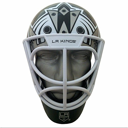Patch Collection Los Angeles Kings Goalie Mask Helmet Style FanMask by Patch Collection