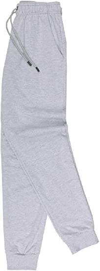 Nicellyer Men's Athletic-Fit Regular-Fit Elastic Waist Oversized Thin Pant