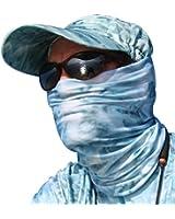 Aqua Design Fishing Sun Mask Camo Multipurpose Face Wind Sun Protection Head Tube Sizes Youth to Adult XL Fishing Hunting Gaiter