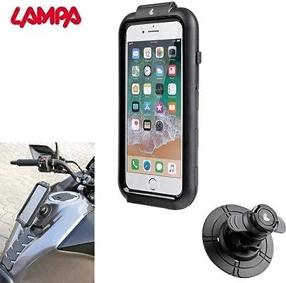 Soporte para Smartphone o teléfono móvil, Impermeable, para Moto, Scooter, Compatible con Harley-Davidson con conexión magnética, depósito para iPhone 6, 7 y 8, Funda para navegador: Amazon.es: Coche y moto