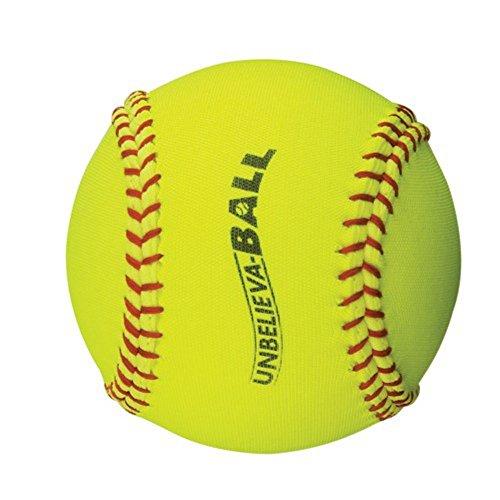 BSN Sports Unbelieva-Ball Yellow Softball, 12-Inch by BSN Sports