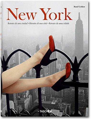 New York. Portrait of a city. Ediz. italiana, spagnola e portoghese Copertina rigida – 7 set 2010 Reuel Golden Taschen 383652158X Photography & photographs