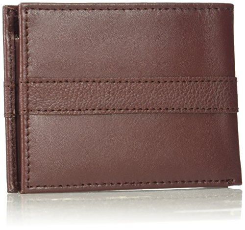 Tommy Hilfiger Men's Ranger Leather Passcase Wallet, Burgundy by Tommy Hilfiger (Image #2)