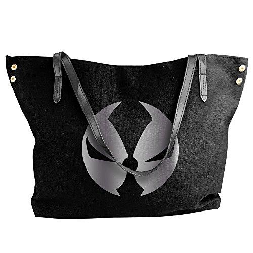 Spawn Mask Platinum Logo Handbag Shoulder Bag For Women