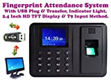 Best Deals - Biometric Fingerprint Based Time & Attendance System Machine USB Plug & Play