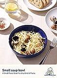 LE TAUCI Pasta Bowls Ceramic Salad Bowl, Large