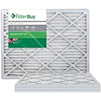 AFB Silver MERV 8 16x24x1 Pleated AC Furnace Air Filter. Filters. 100% produced in the USA. by FilterBuy