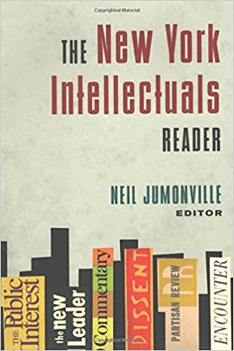 Book The New York Intellectuals Reader