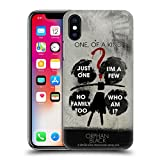 Official Orphan Black Clone Riddle Posters Hard Back Case for Apple iPhone X